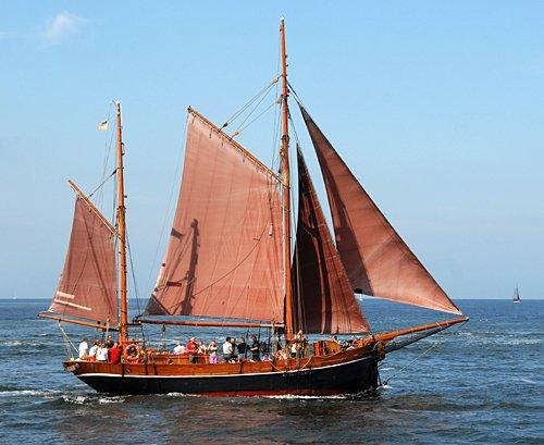 Hanne-Marie, Volker Gries, Hanse Sail Rostock 2009 , 08/2009