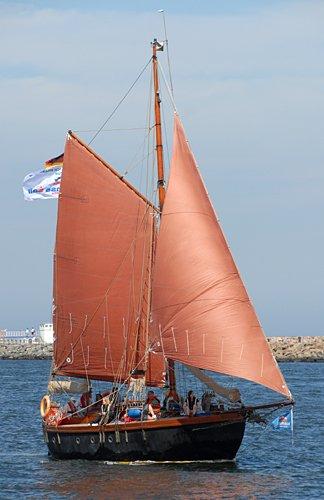 Isamar, Volker Gries, Hanse Sail Rostock 2009 , 08/2009