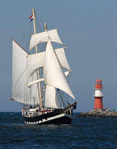 La Malouine, Volker Gries, Hanse Sail Rostock 2009 , 08/2009