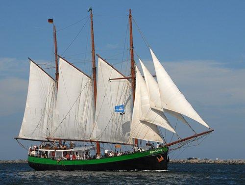 Pippilotta, Volker Gries, Hanse Sail Rostock 2009 , 08/2009