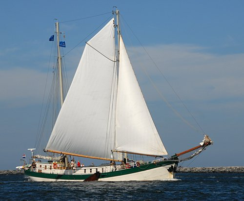 Elegant, Volker Gries, Hanse Sail Rostock 2009 , 08/2009