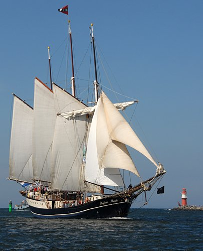 Regina Maris, Volker Gries, Hanse Sail Rostock 2009 , 08/2009