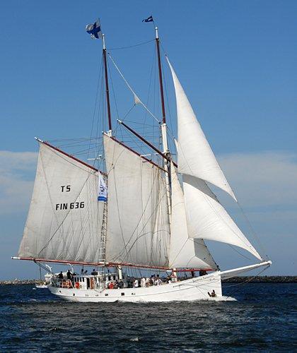 Joanna Saturna, Volker Gries, Hanse Sail Rostock 2009 , 08/2009