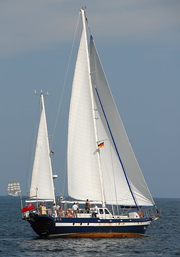 Galene, Volker Gries, Hanse Sail Rostock 2009 , 08/2009