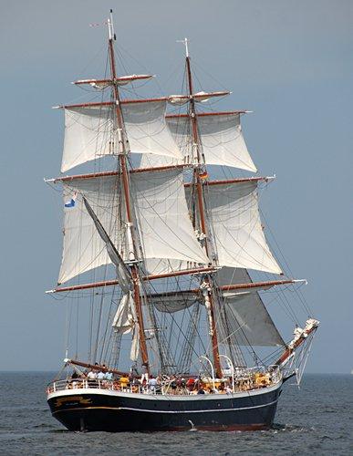 Morgenster, Volker Gries, Hanse Sail Rostock 2009 , 08/2009