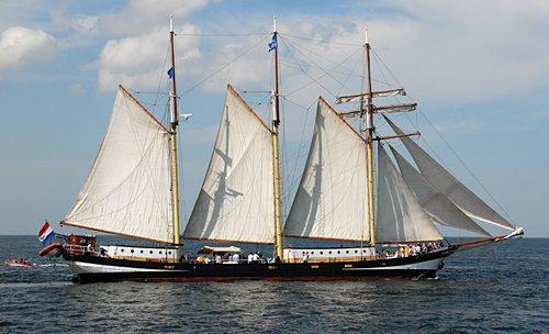 Swaensborgh, Volker Gries, Hanse Sail Rostock 2009 , 08/2009