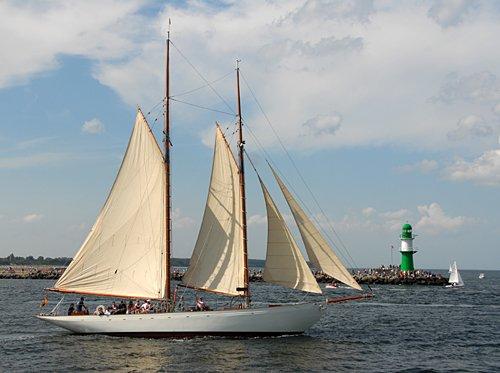 Vera Mary, Volker Gries, Hanse Sail Rostock 2009 , 08/2009