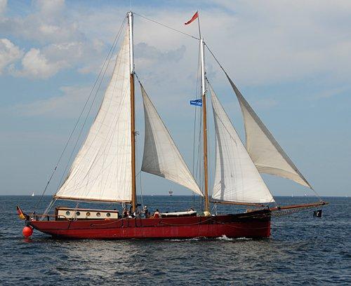 Ethel von Brixham, Volker Gries, Hanse Sail Rostock 2009 , 08/2009