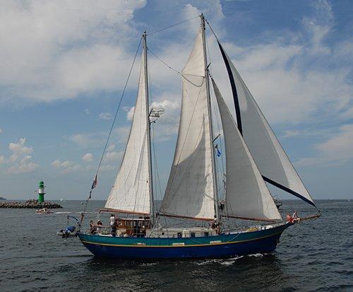 Safier, Volker Gries, Hanse Sail Rostock 2009 , 08/2009