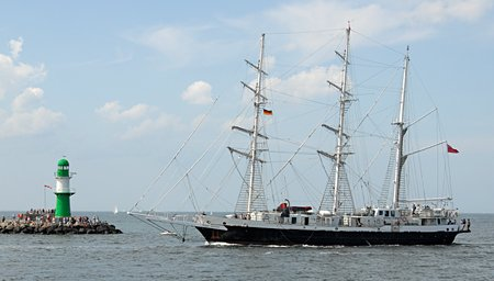 Lord Nelson, Volker Gries, Hanse Sail Rostock 2009 , 08/2009