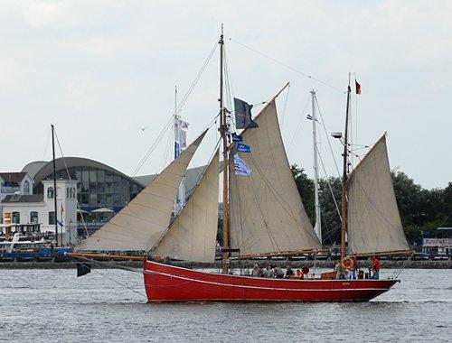 Gefion, Volker Gries, Hanse Sail Rostock 2009 , 08/2009