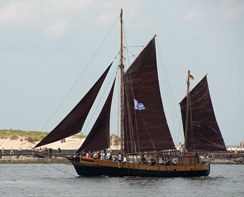 Victoria, Volker Gries, Hanse Sail Rostock 2009 , 08/2009