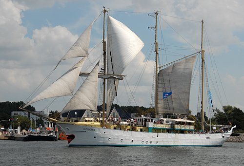 Sunthorice, Volker Gries, Hanse Sail Rostock 2009 , 08/2009