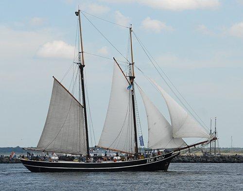 Ide Min, Volker Gries, Hanse Sail Rostock 2009 , 08/2009