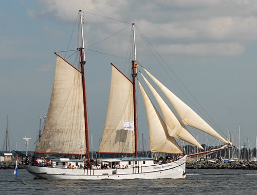 Flying Dutchman, Volker Gries, Hanse Sail Rostock 2009 , 08/2009