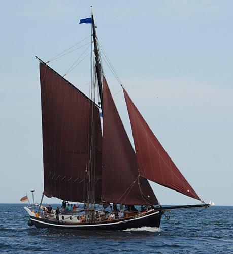 Ernestine, Volker Gries, Hanse Sail Rostock 2009 , 08/2009