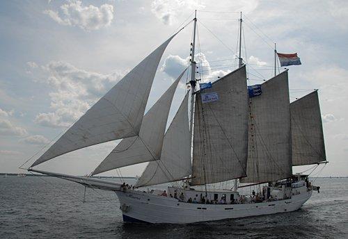 Minerva, Volker Gries, Hanse Sail Rostock 2009 , 08/2009