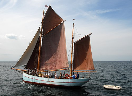Bodil, Volker Gries, Hanse Sail Rostock 2009 , 08/2009