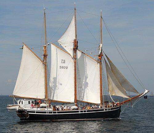 Westkust, Volker Gries, Hanse Sail Rostock 2009 , 08/2009