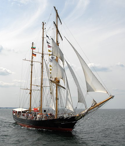 Kaliakra, Volker Gries, Hanse Sail Rostock 2009 , 08/2009