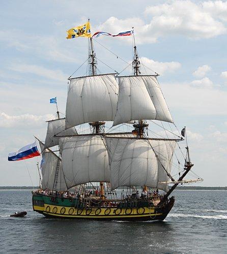 Shtandart, Volker Gries, Hanse Sail Rostock 2009 , 08/2009