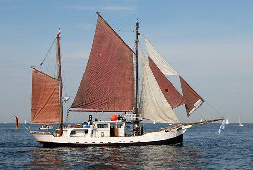 Königin Wilhelmina, Volker Gries, Hanse Sail Rostock 2009 , 08/2009