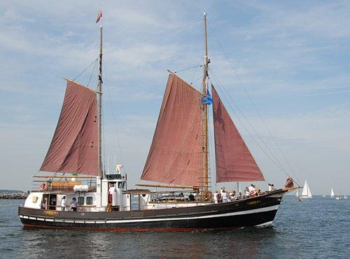 Sirius, Volker Gries, Hanse Sail Rostock 2009 , 08/2009