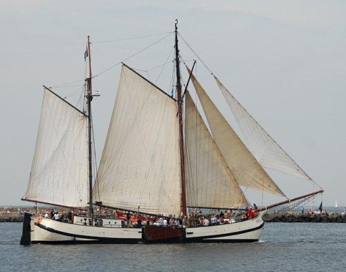 Engelina, Volker Gries, Hanse Sail Rostock 2009 , 08/2009