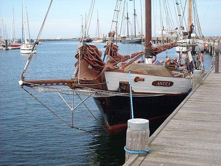 Antica, Volker Gries, Hanse Sail Rostock 2009 , 08/2009