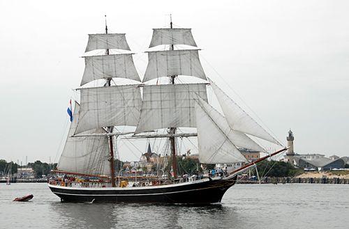 Morgenster, Volker Gries, Hanse Sail Rostock 2010 , 08/2010