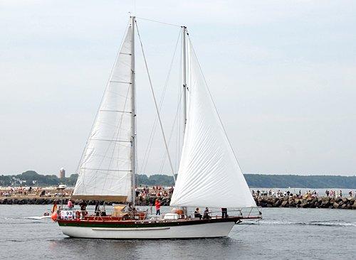 Catharina, Volker Gries, Hanse Sail Rostock 2010 , 08/2010