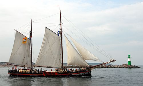 Fortuna, Volker Gries, Hanse Sail Rostock 2010 , 08/2010