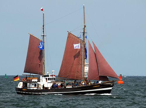 Sirius, Volker Gries, Hanse Sail Rostock 2010 , 08/2010