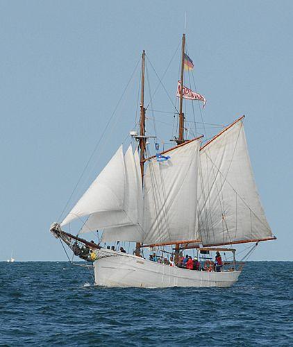Nordwind, Volker Gries, Hanse Sail Rostock 2010 , 08/2010