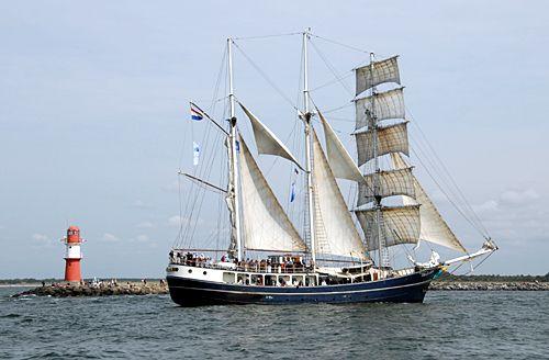 Thalassa, Volker Gries, Hanse Sail Rostock 2010 , 08/2010