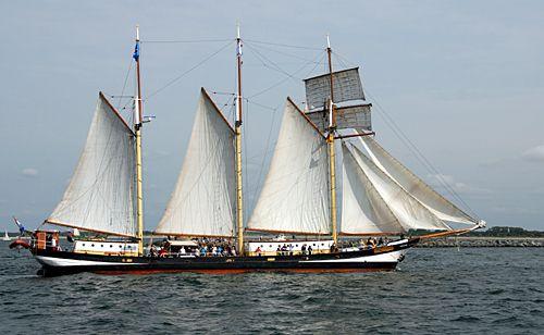 Swaensborgh, Volker Gries, Hanse Sail Rostock 2010 , 08/2010