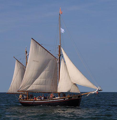 Hansine, Volker Gries, Hanse Sail Rostock 2010 , 08/2010