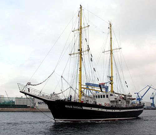 Yunyj Baltiets, Volker Gries, Hanse Sail Rostock 2010 , 08/2010