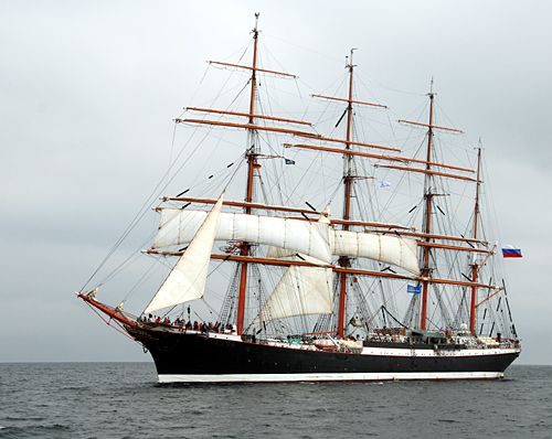 Sedov, Volker Gries, Hanse Sail Rostock 2010 , 08/2010