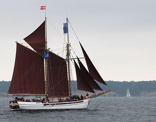 Nordlyset II, Volker Gries, Hanse Sail Rostock 2010 , 08/2010