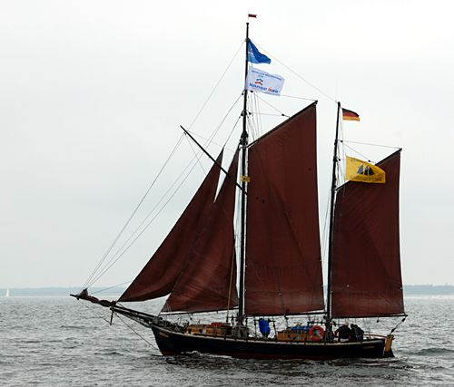 Concordia, Volker Gries, Hanse Sail Rostock 2010 , 08/2010