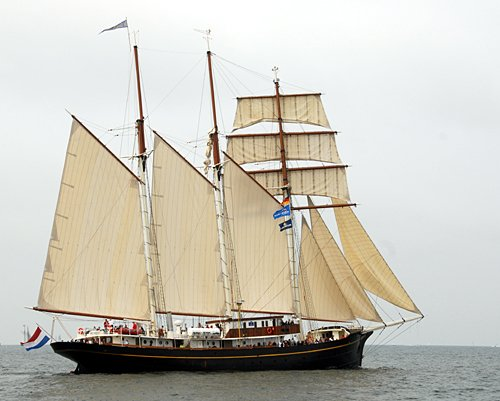 Gulden Leeuw, Volker Gries, Hanse Sail Rostock 2010 , 08/2010