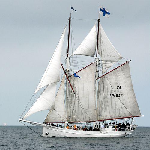 Joanna Saturna, Volker Gries, Hanse Sail Rostock 2010 , 08/2010