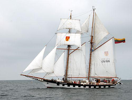 Brabander, Volker Gries, Hanse Sail Rostock 2010 , 08/2010