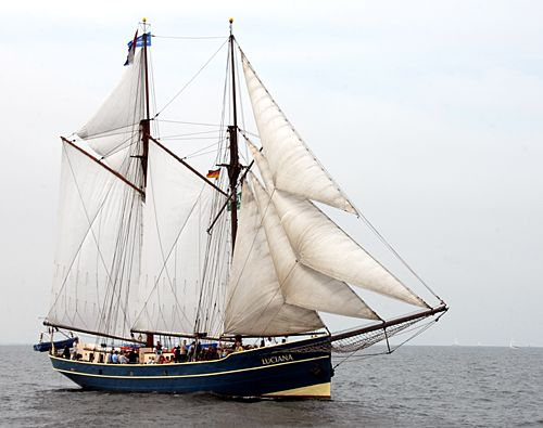 Luciana, Volker Gries, Hanse Sail Rostock 2010 , 08/2010