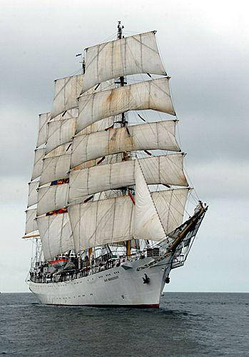 Dar Mlodziezy, Volker Gries, Hanse Sail Rostock 2010 , 08/2010