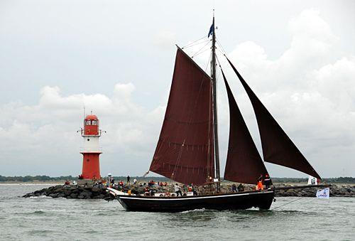 Ernestine, Volker Gries, Hanse Sail Rostock 2010 , 08/2010