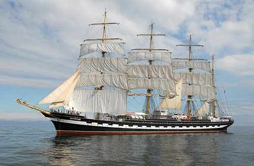 Kruzenshtern, Volker Gries, Hanse Sail Rostock 2011 , 08/2011