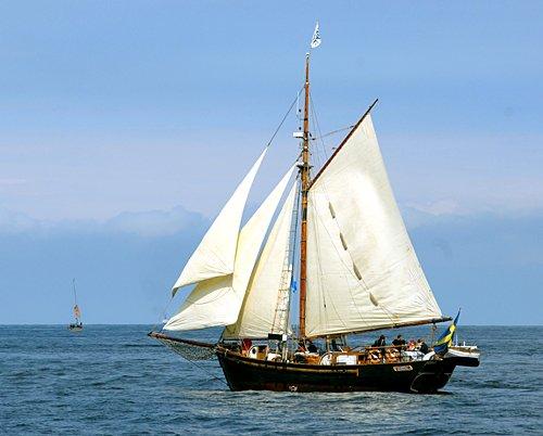 Hoppet av Brantevik, Volker Gries, Hanse Sail Rostock 2011 , 08/2011
