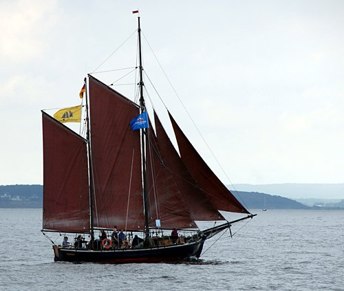 Concordia, Volker Gries, Hanse Sail Rostock 2011 , 08/2011